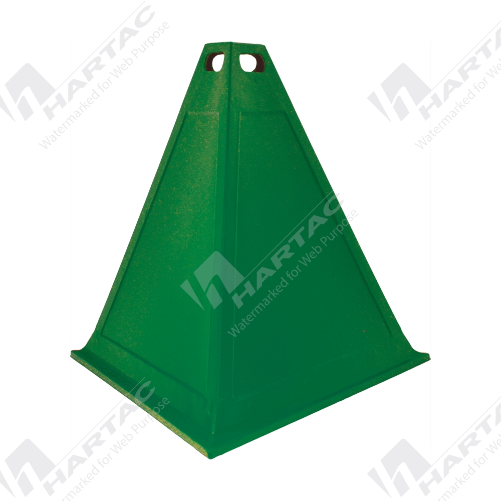 hs8281 5 a 3 sided pyramid cone green hartac australia