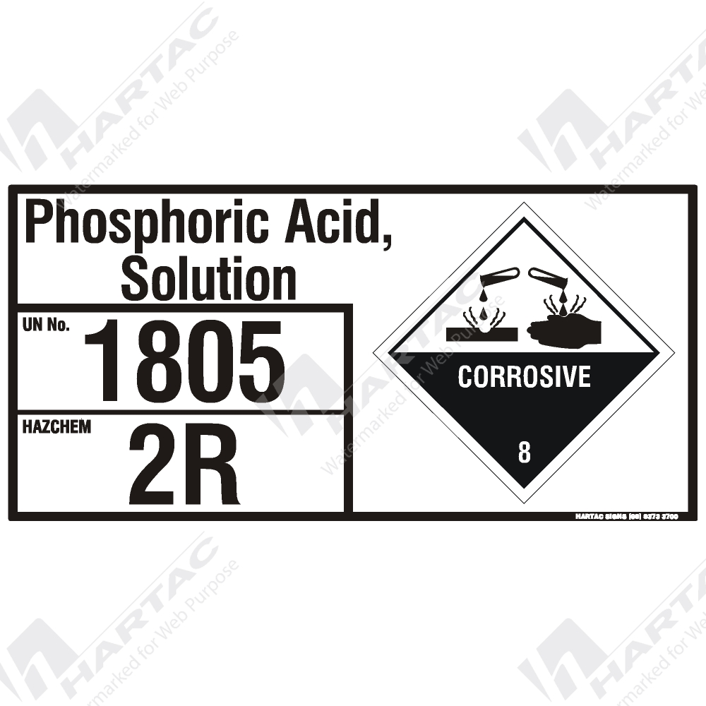 phosphoric acid msds