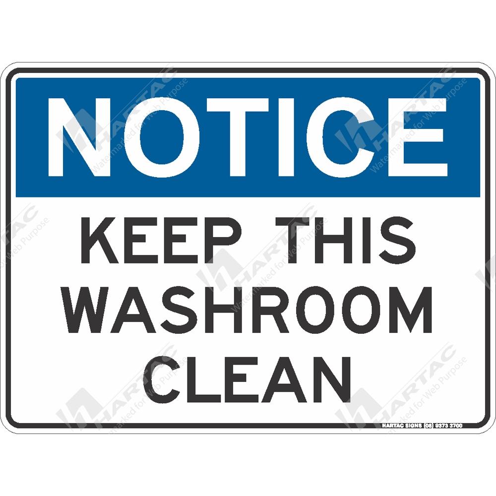 Toilet Notice Signs – Jerusalem House