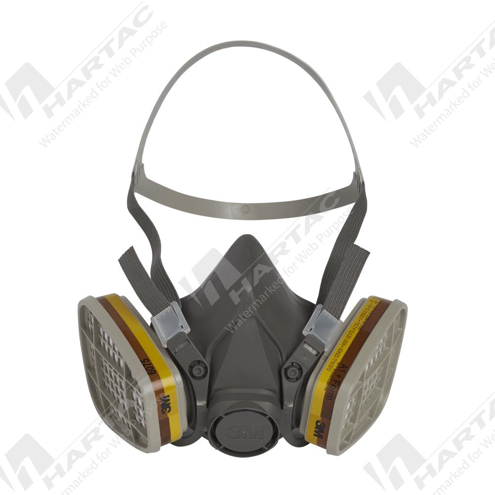 Respiratory Protection - 3M 6000 Series Half Face Respirator - Company Name - Hartac Australia