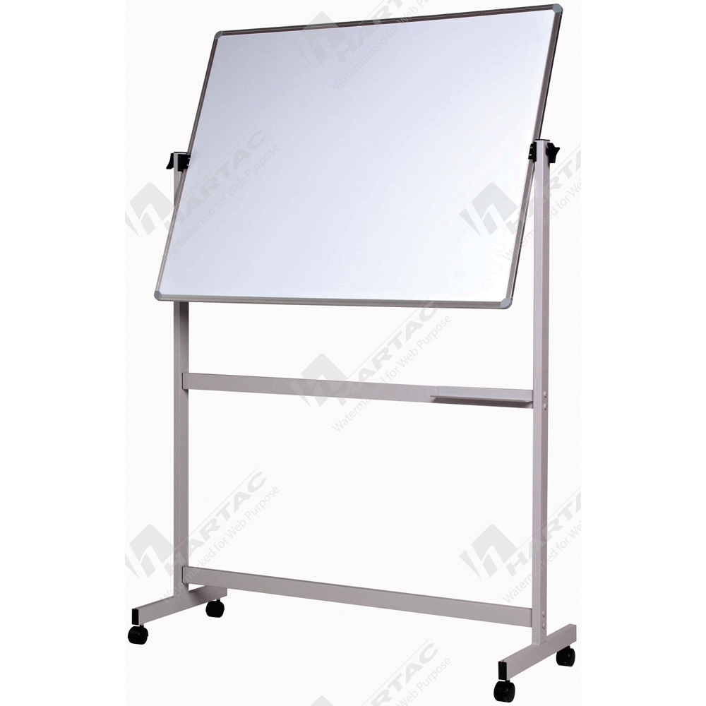 Notice Boards - Double-Sided Mobile Pivoting Whiteboard ...